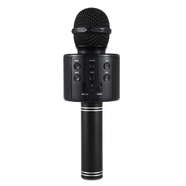 Pacific Pike -  Wireless Bluetooth Karaoke Microphone FINAL SALE  -  Black / BUY ONE  -  Hidden