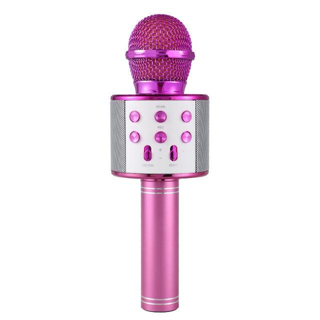Pacific Pike -  Wireless Bluetooth Karaoke Microphone FINAL SALE  -  Purple / BUY ONE  -  Hidden