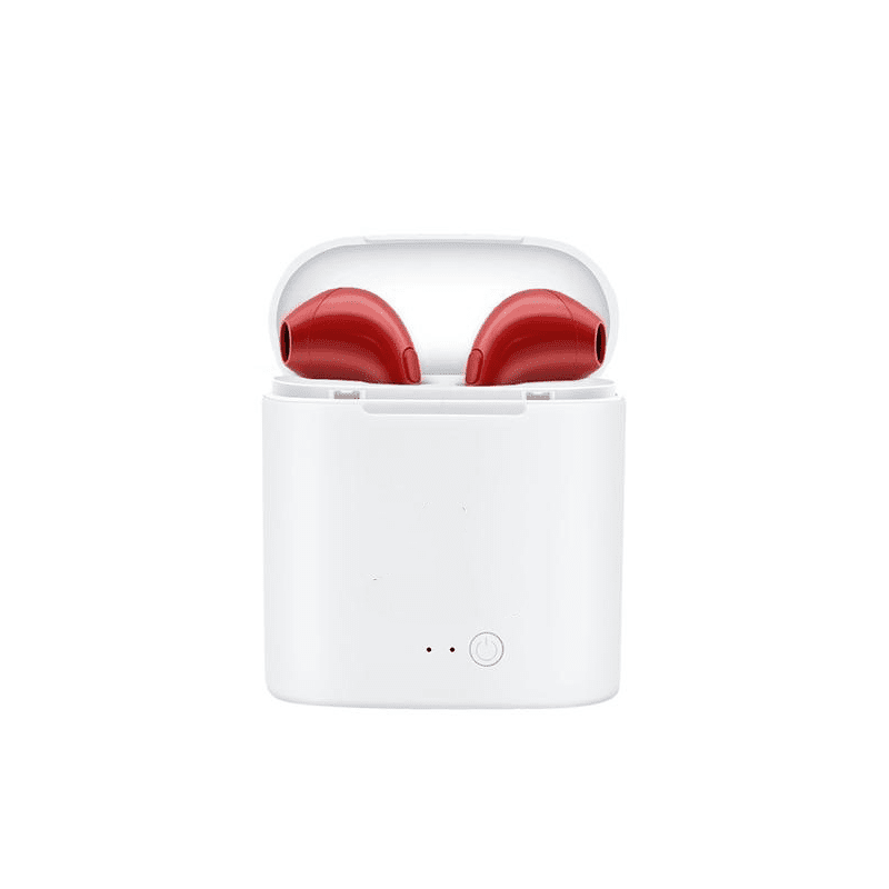 Pacific Pike -  Wireless EarPods (BOGO DEAL)  -  Red EarPods  -  Earphones