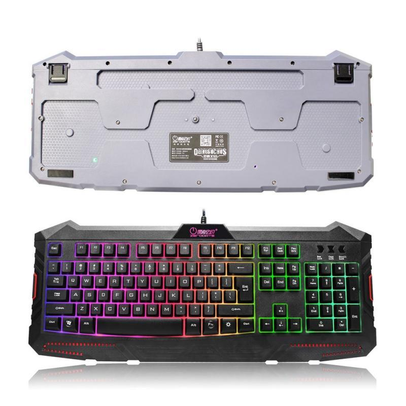 Pacific Pike -  X10 Multi-Color Backlit Gaming Keyboard  -  Black  -  Keyboards