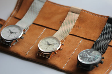 Best watch roll 2020: protect your precious watches with Blenheim London Suede Watch roll