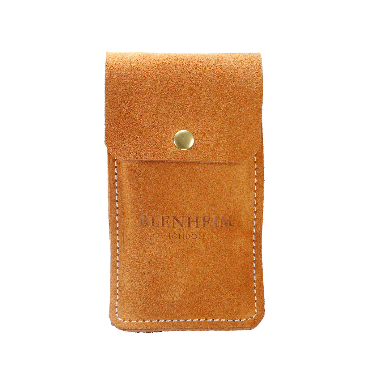 c772114dcbc72 Single hand-made suede leather carry case