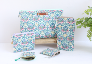 Liberty floral fabric purses and bags by A Bag Less Ordinary