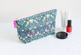 Green makeup bag & glasses case gift set