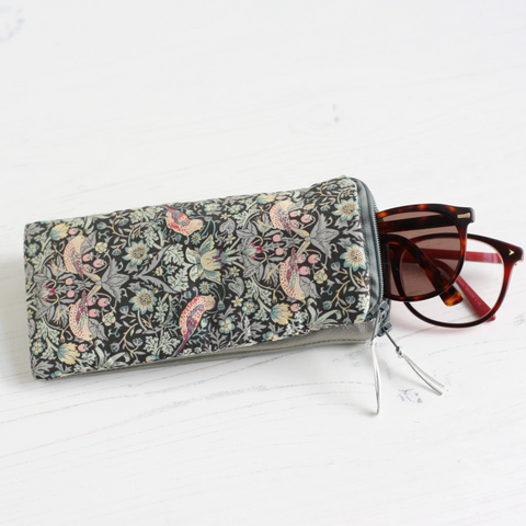Silver double glasses case