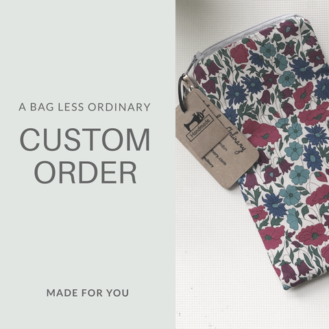 Custom order - Keeley