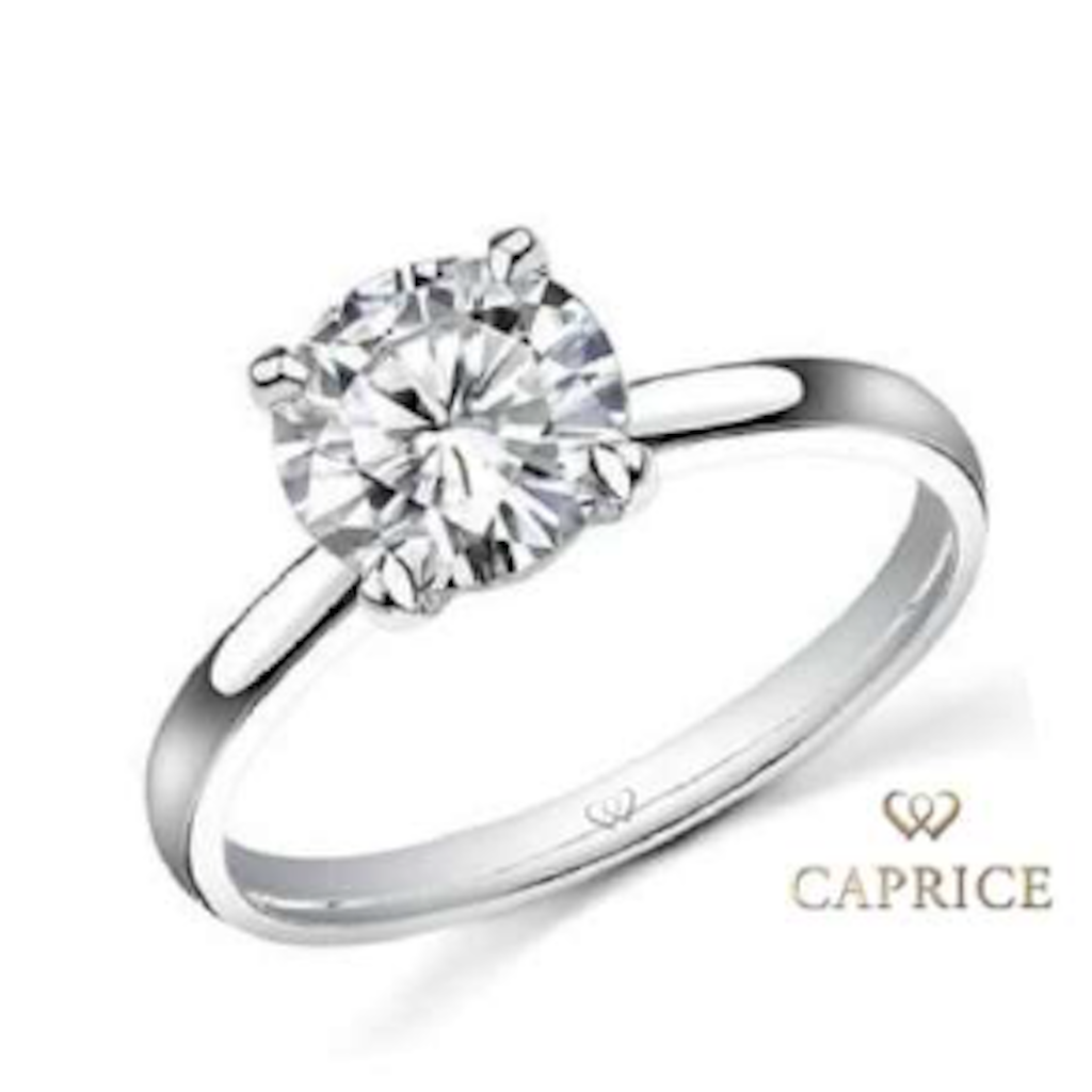 Solitaire engagement ring, 18ct white gold, with 1.00ct diamond (G / VVS1 / GIA)