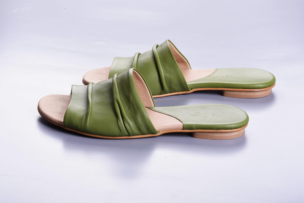 Elephant Mules - Light Green