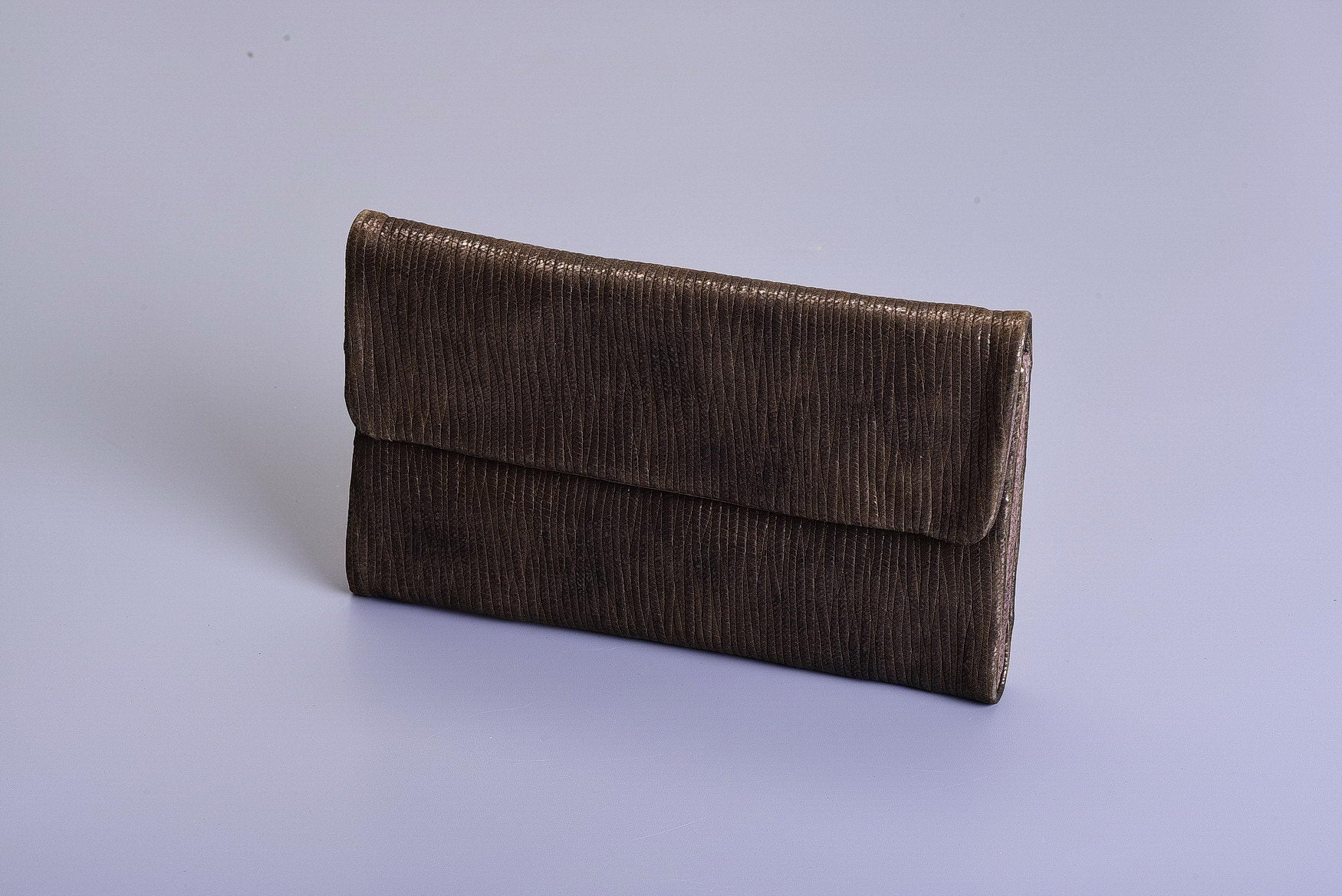 Lenny Wallet - Golden Khaki & Brown