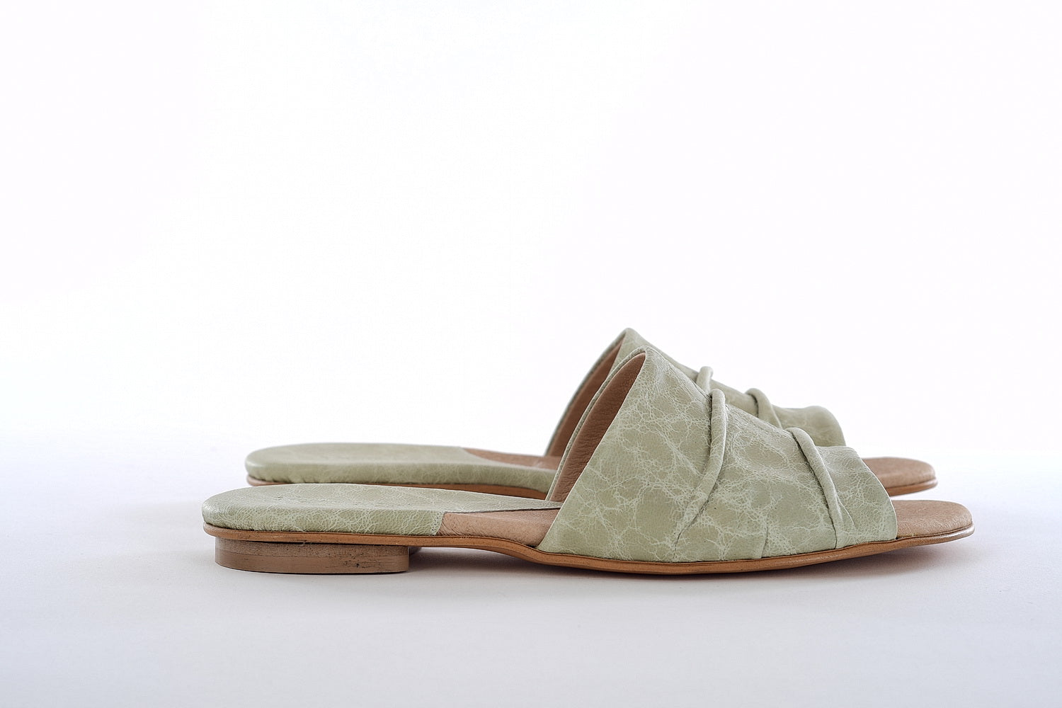 Elephant Mules -Bright Green