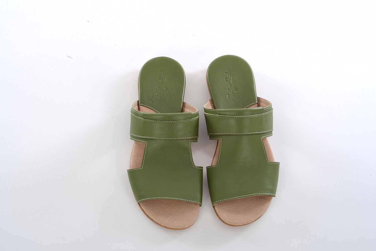 Bella Mules - Light Green