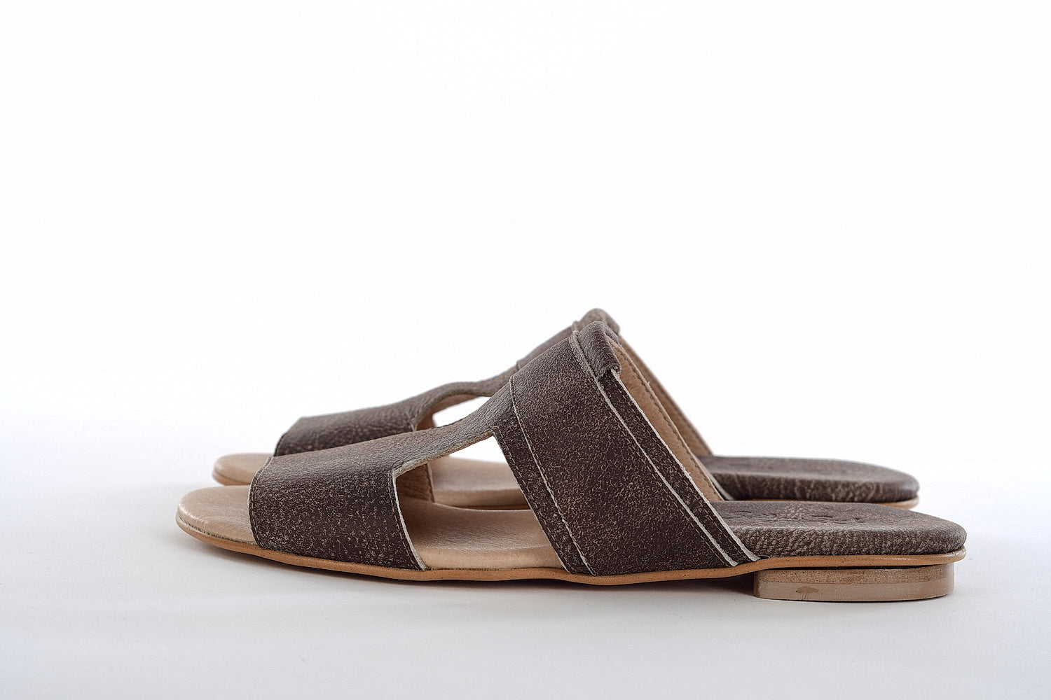 Bella Mules - Brown