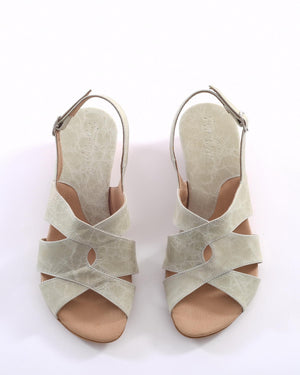 Mandy Sandals - Light Green