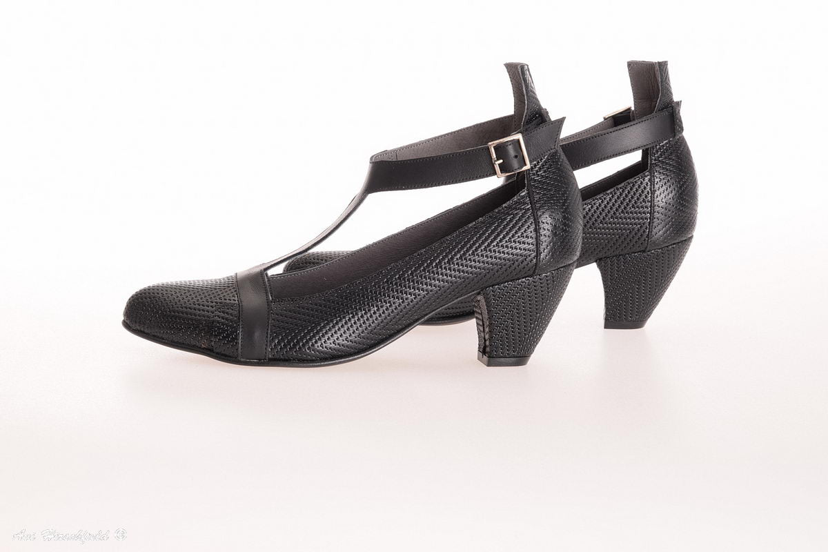 Clara Heeled Shoes - Black