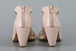Swan Pumps - Pink Patent
