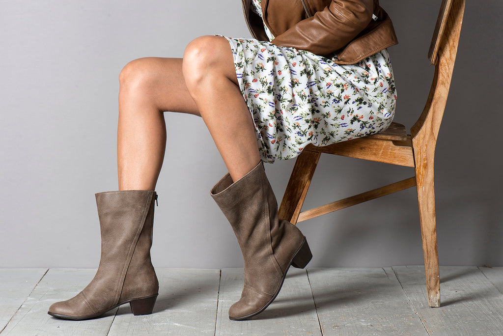 Lara Boots - Brown
