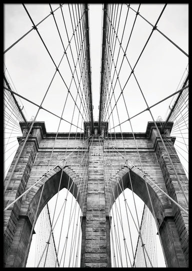 BROOKLYN BRIDGE PLAKAT 🌉