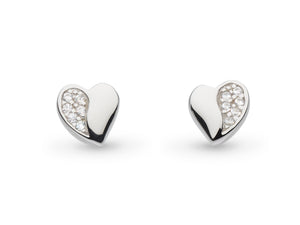 Sparkle Sweet Heart Earrings