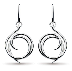 Helix Drop Earrings
