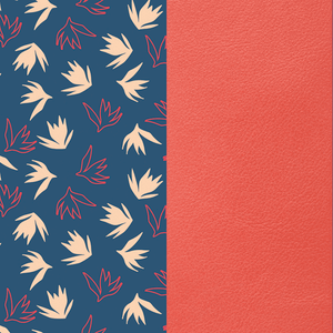 NEW Dandelion & Coral Leather