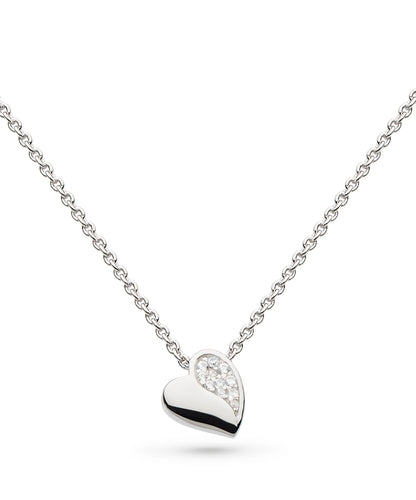 Sparkle Sweet Heart Necklace