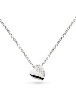 Sparkle Sweet Heart Necklace - Cockrams Jewellers