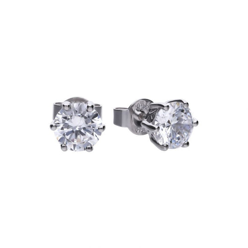 2.00ct Six Claw Earrings - Cockrams Jewellers
