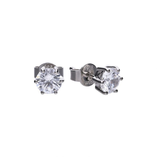 1.50ct Six Claw Earrings - Cockrams Jewellers