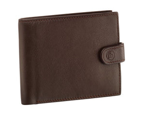 Brown Wallet With Coin Purse