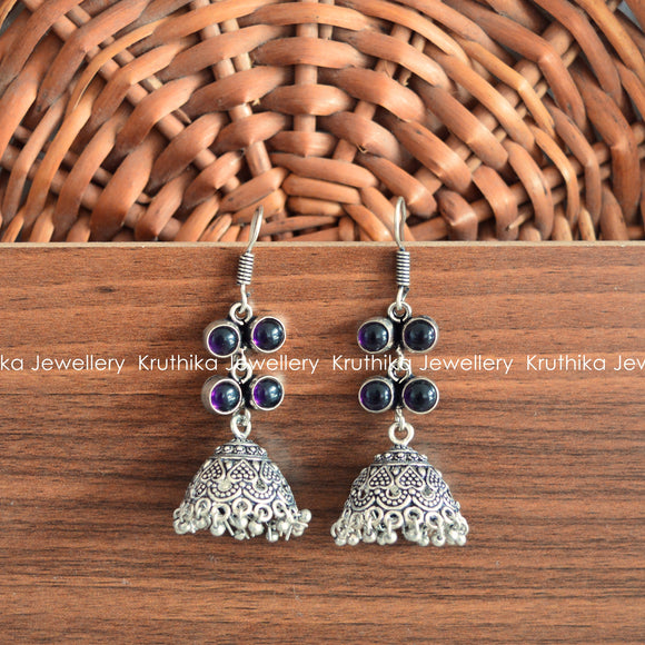 GS Stone Hook Earrings