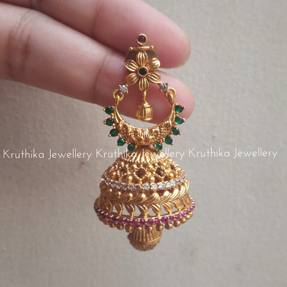 Light weight Matte Jhumkas
