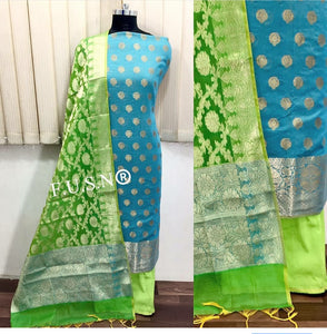 Lovely Banarasi Dress material