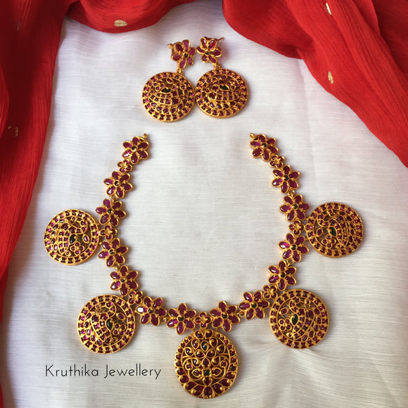 Best selling Real kemp flower necklace NC120