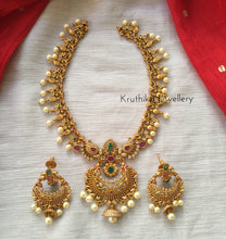 Simple chandbali pendant NC220