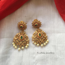 Simple Cutwork earrings E101