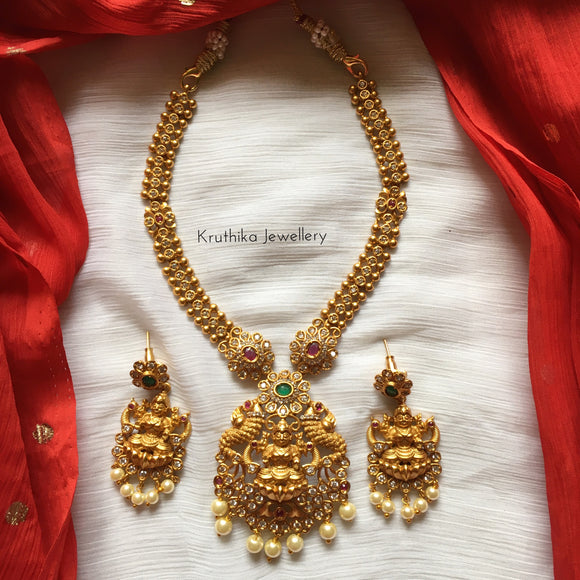 Simple Lakshmi Devi necklace