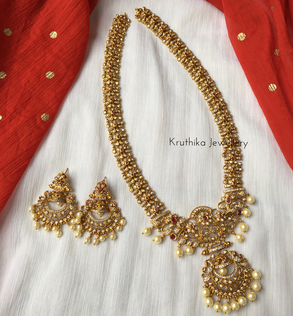 Pretty cutwork AD haaram set