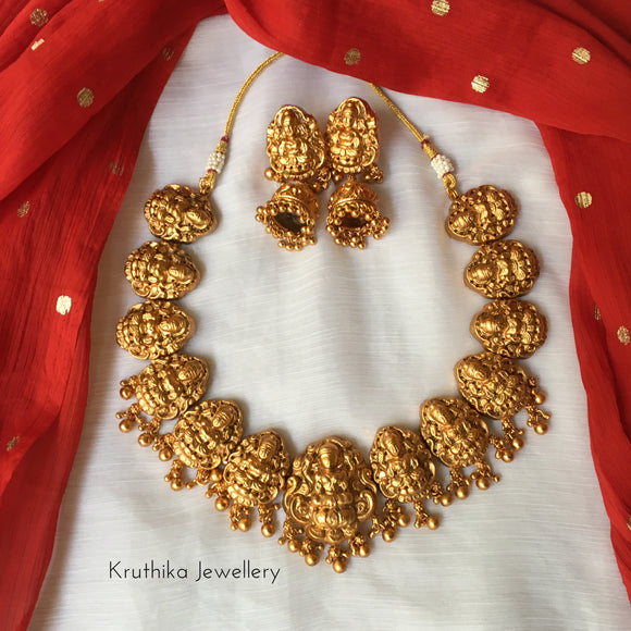 Lakshmi Devi pendants necklace NC111