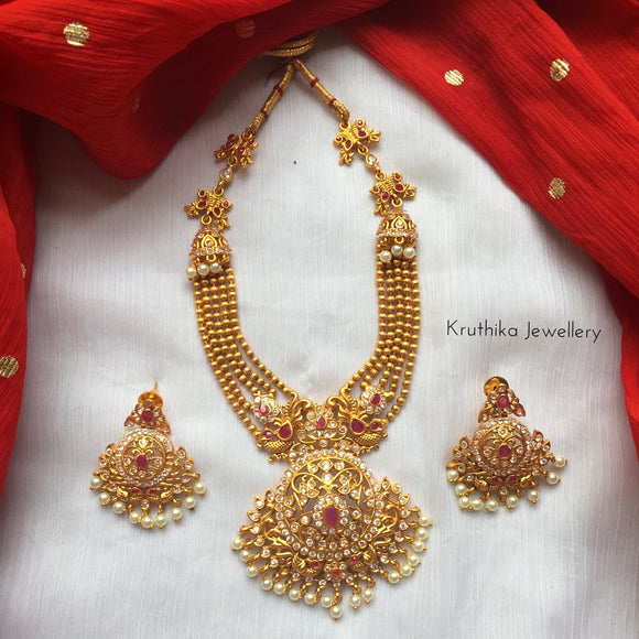 Five layer balls necklace set NC25