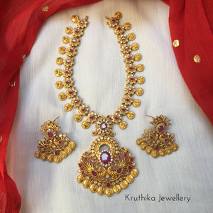 Kasu flower necklace NC183