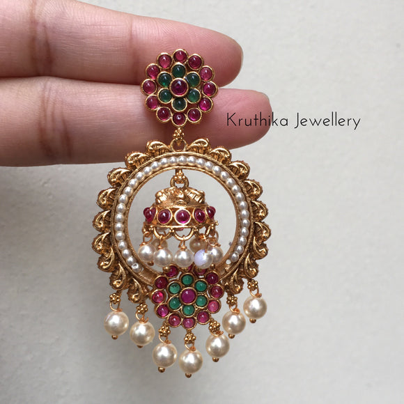 Jhumka in chandbalis E51