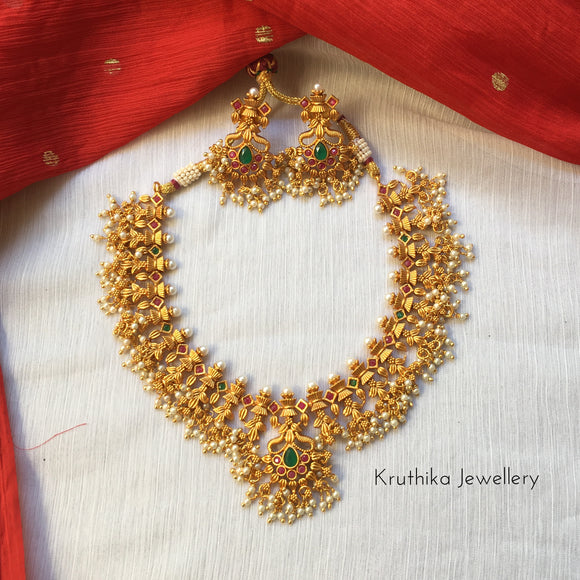 Best selling Guttapoosalu necklace NC123