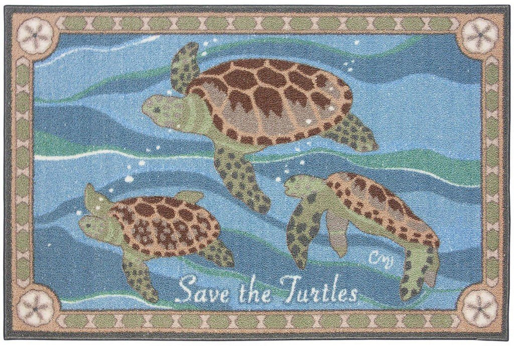 Save the Turtles Washable 1134