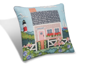 "Nantucket Cottage 16"" Pillow PNC16"
