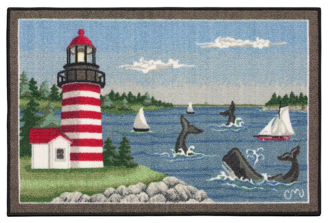 Maine Lighthouse Washable 1183