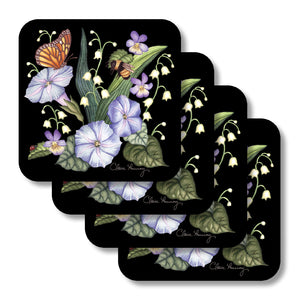 Morning Glories Coasters