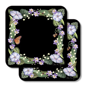 Morning Glories Trivets