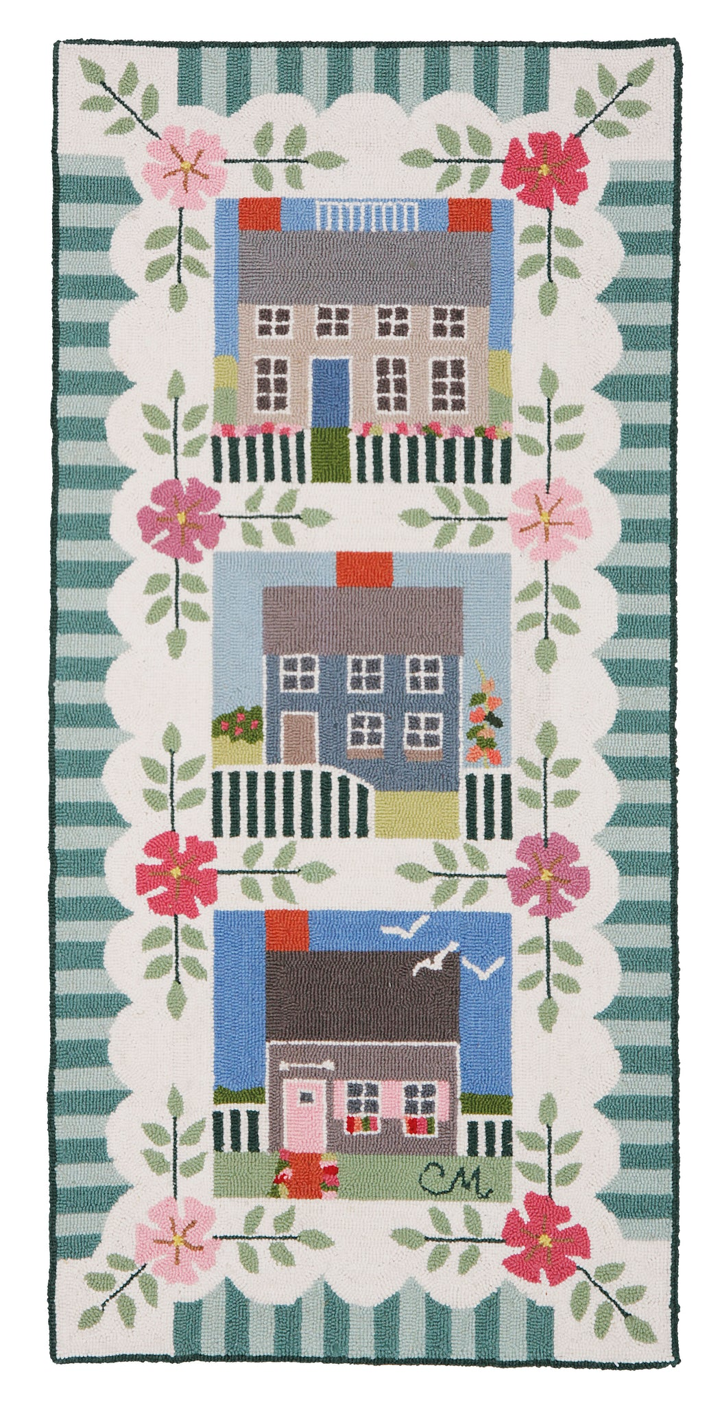 Nantucket Cottage 5' Runner N81-C
