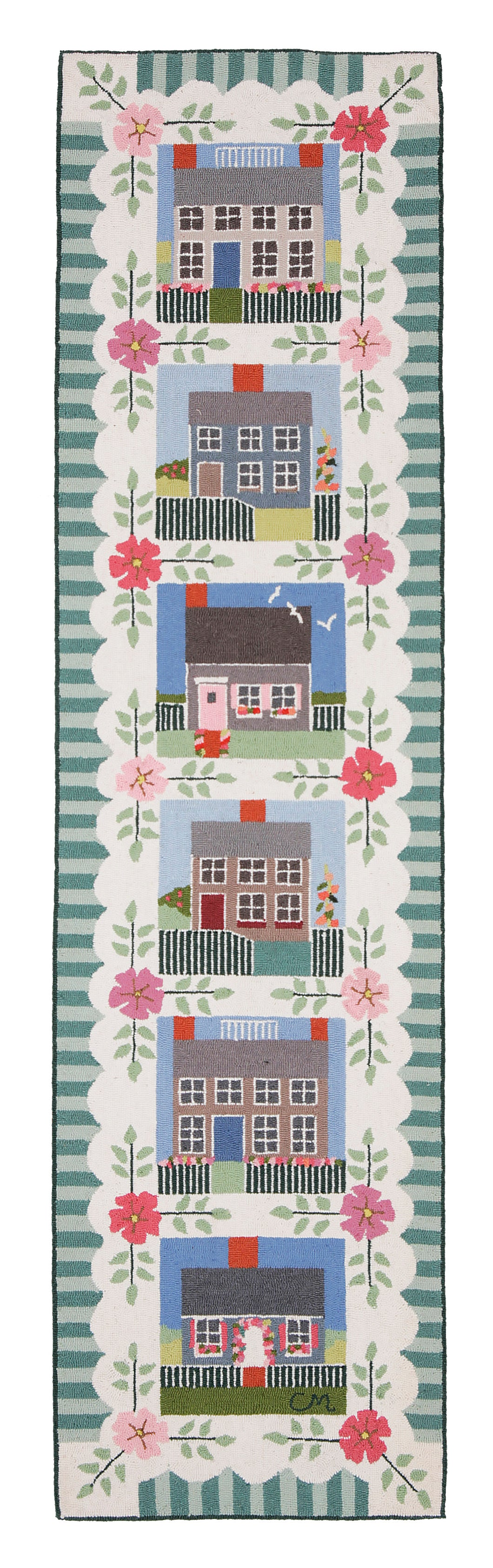 Nantucket Cottage 8' Runner N82