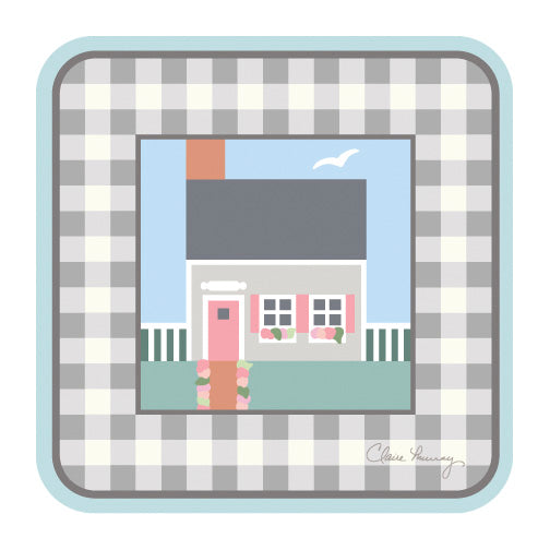 Nantucket Cottages Coasters - DISCONTINUED